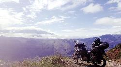 Hacia Colombia sobre dos ruedas