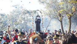 Este domingo se realizará la peregrinación a Santa Rita