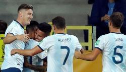Mundial sub-20: Argentina tuvo un arranque a puro gol