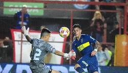 Copa de la Superliga: Boca y Argentinos no se sacaron ventajas en La Paternal
