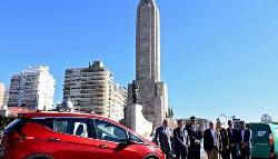 Santa Fe inauguró su primera autopista para autos eléctricos