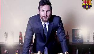 Messi ganó su sexta Bota de Oro