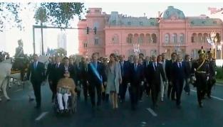 Macri participa del Tedeum del 25 de Mayo y luego compartirá un locro en Olivos con funcionarios