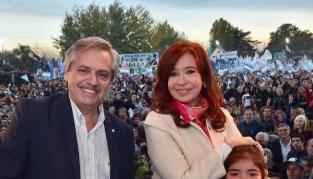 Cristina, junto a Alberto Fernández: Dos dirigentes no podrán hacer todo