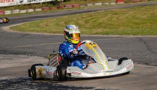 Karting: Grimaldi hizo podio en Zárate