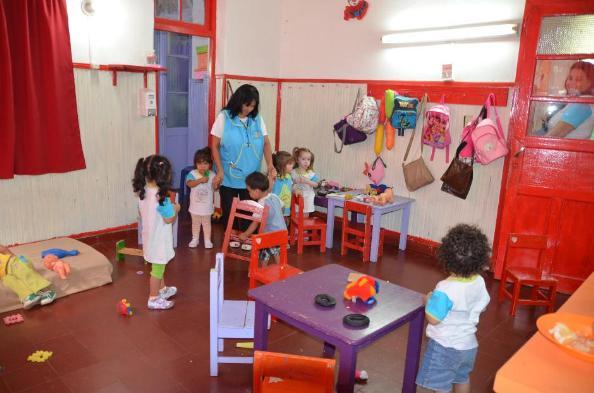 Iniciaron las actividades en los jardines maternales for Actividades para jardin maternal